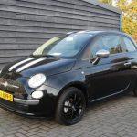 Fiat 500 2008 zwart